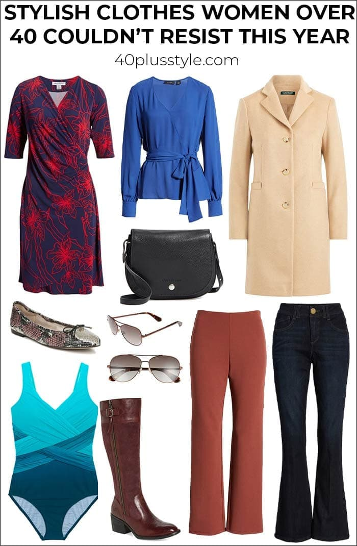 All the most stylish clothes, shoes and accessories women over 40 couldn't resist this year | 40plusstyle.com