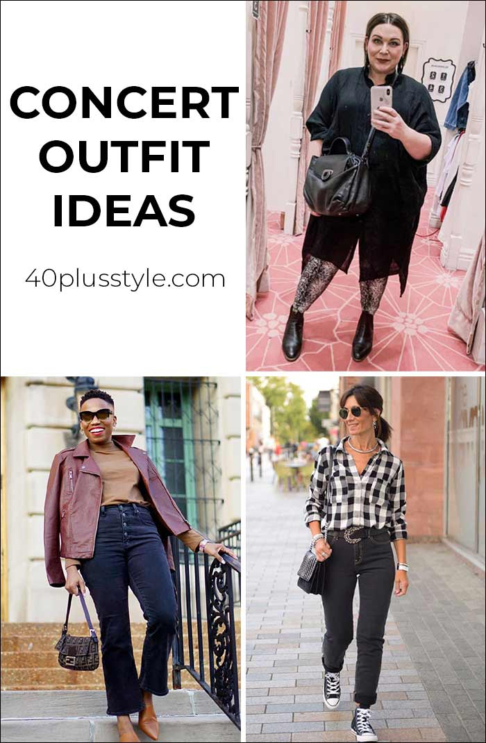 What to wear to a concert | 40plusstyle.com