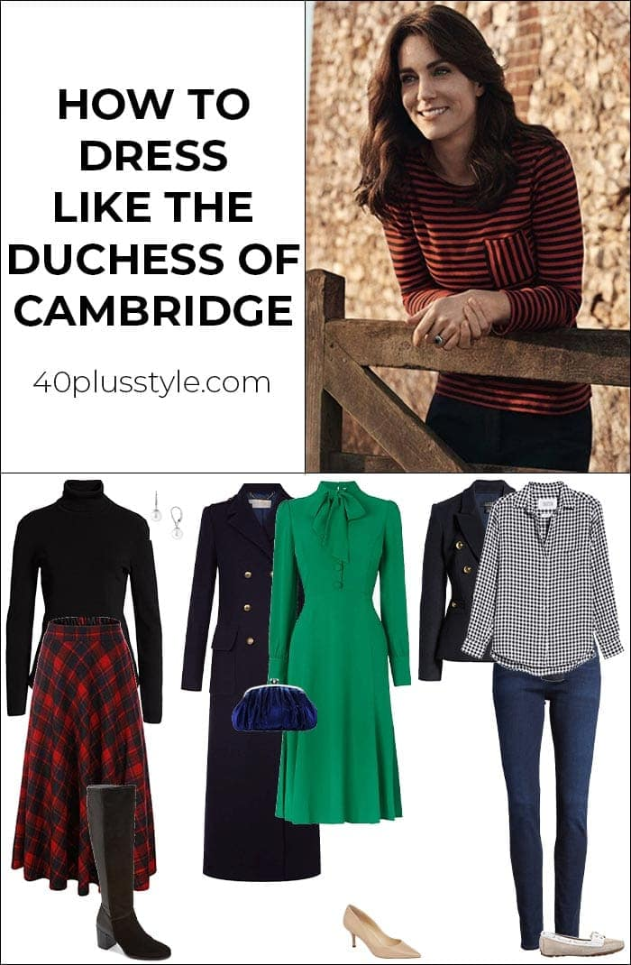 How to dress like the Duchess of Cambridge | 40plusstyle.com