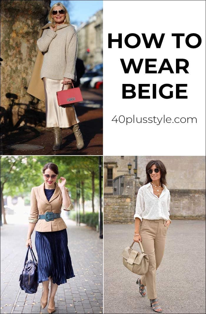 Can you wear beige over 40? (or will it kill you?) | 40plusstyle.com