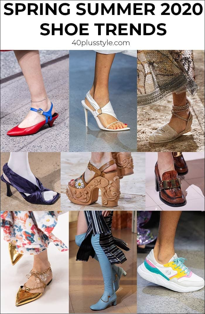 20 top trending shoes for women over 40 this spring and summer | 40plusstyle.com