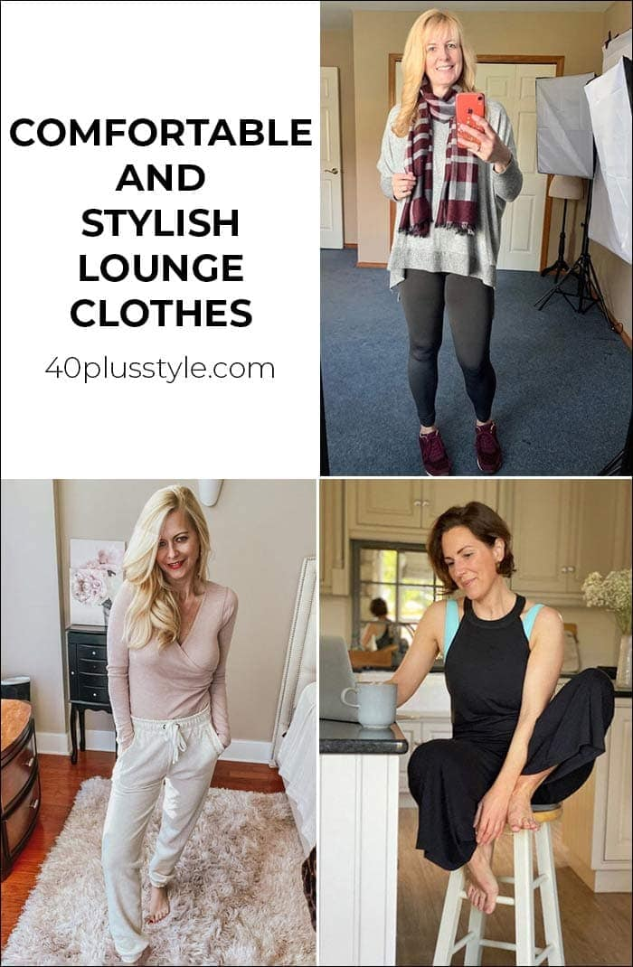 Lounge clothes that make you feel comfortable and stylish   40plusstyle.com