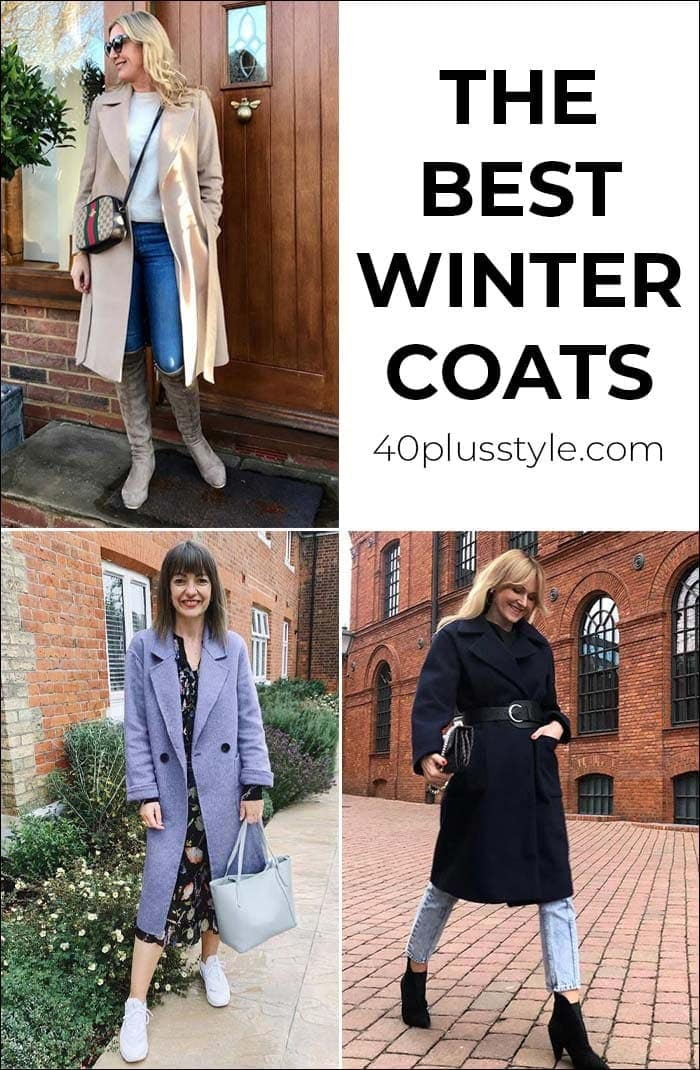 The best winter coats for women this season and how to choose a coat | 40plusstyle.com