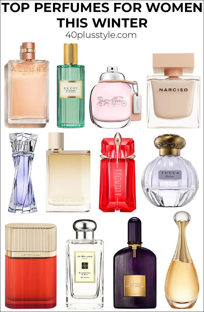 Top perfumes for women this winter: The most glamorous scents for your Christmas parties   40plusstyle.com