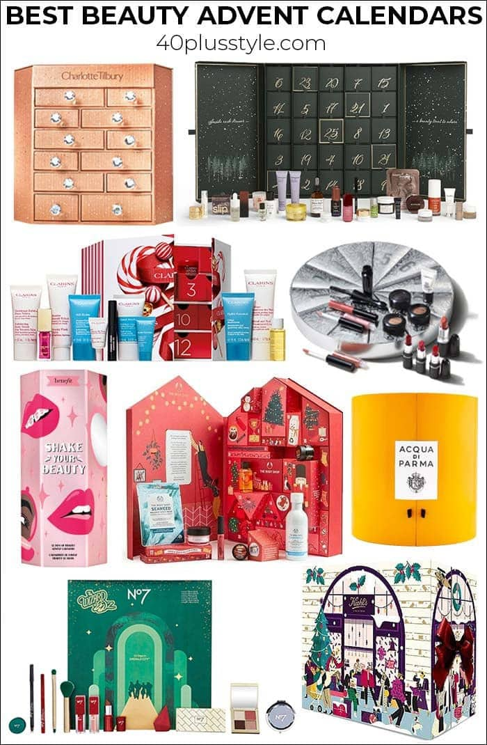 The best beauty advent calendars for women to countdown to Christmas | 40plusstyle.com