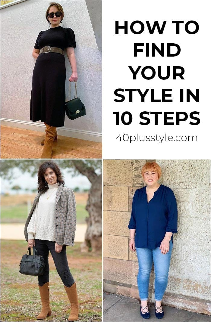 How to find your style in 10 steps | 40plusstyle.com