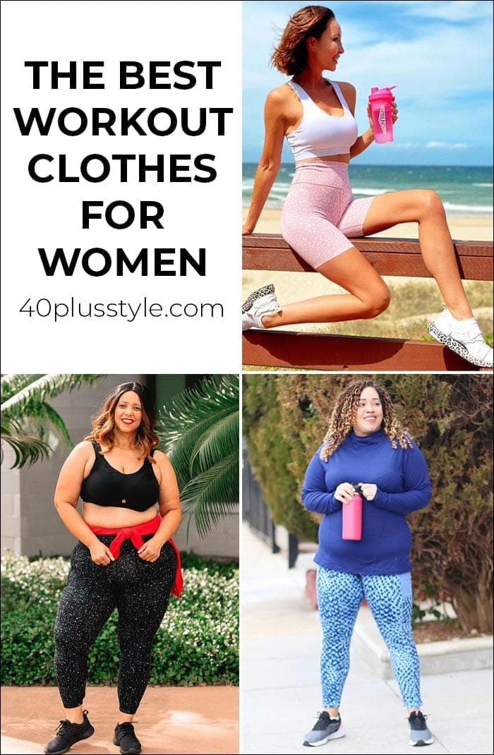 The best workout clothes for women: How to look stylish while keeping fit and healthy in 2021 | 40plusstyle.com