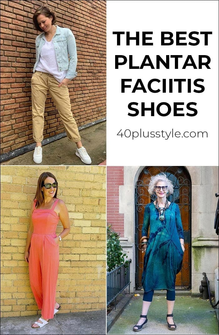 The best plantar fasciitis shoes for women over 40   40plusstyle.com