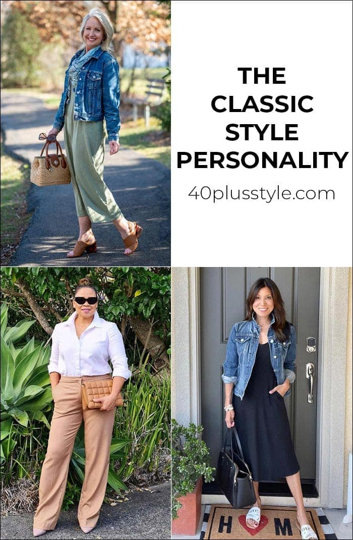 A style guide and capsule wardrobe for the CLASSIC style personality | 40plusstyle.com