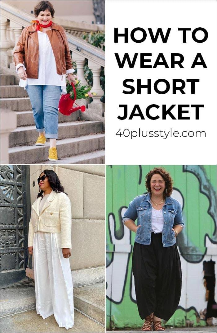 Cómo llevar una chaqueta corta y las mejores de las tiendas ahora    40plusstyle.com