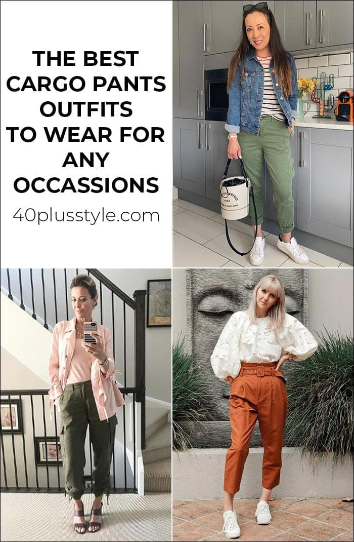 The best cargo pants outfits to wear for any occasion | 40plusstyle.com