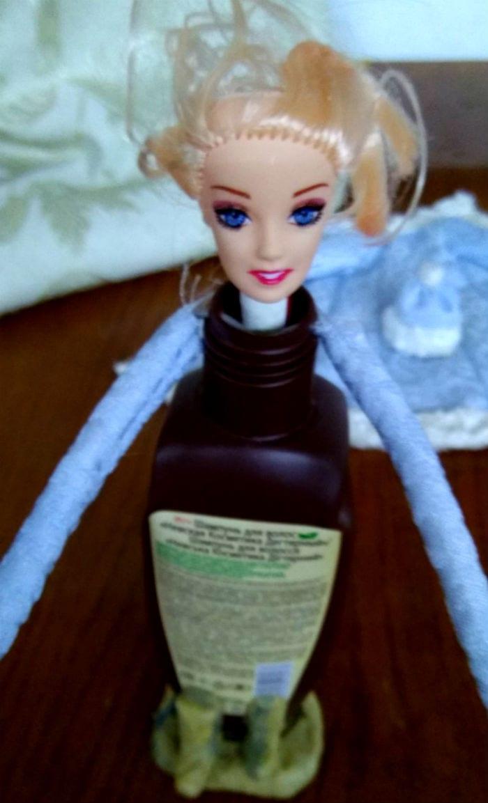 фигурка снегурочки из бутылки фото