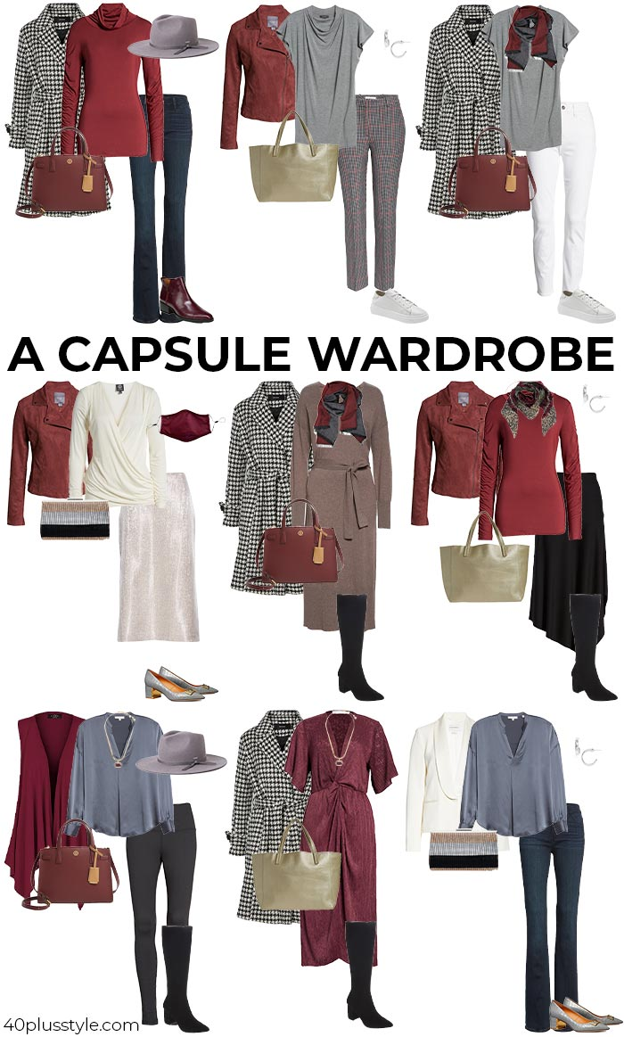 The ultimate guide to creating a capsule wardrobe | 40plusstyle.com