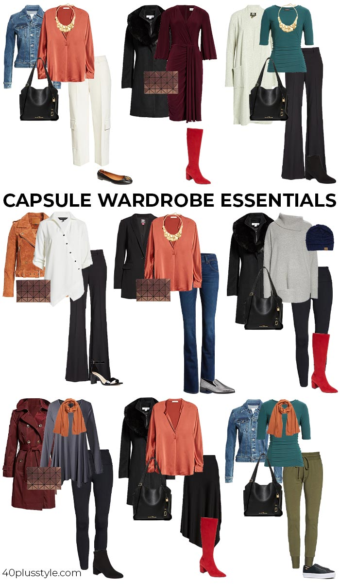 Wardrobe Essentials 28 Pieces Every Women Over 40 Needs In Her Closet