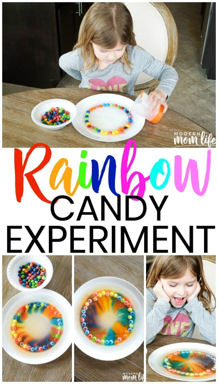 Rainbow Candy Experiment