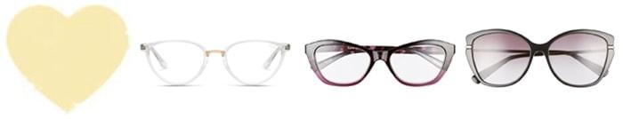 Best glasses for heart face shape | 40plusstyle.com