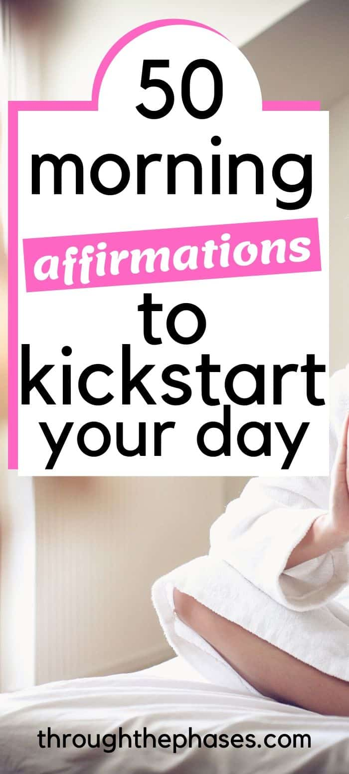 morning affirmations for success