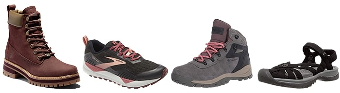 Shoes and boots to wear on a hike   40plusstyle.com