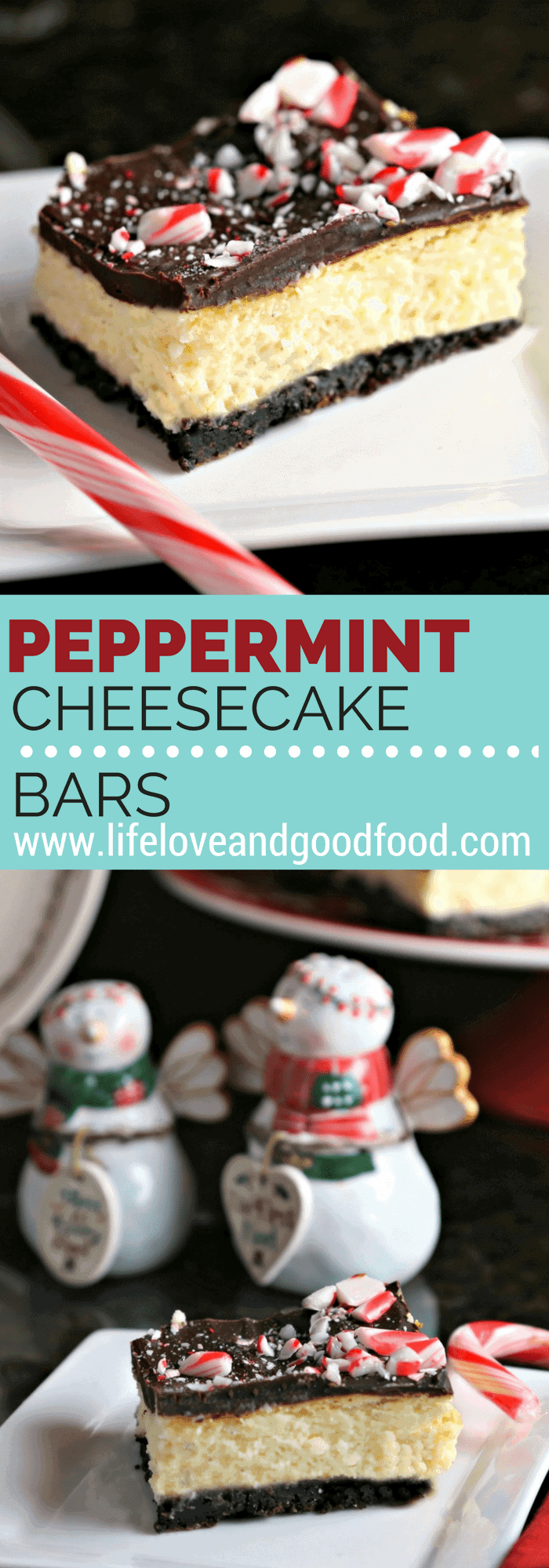 Peppermint Cheesecake Bars   Life, Love, and Good Food