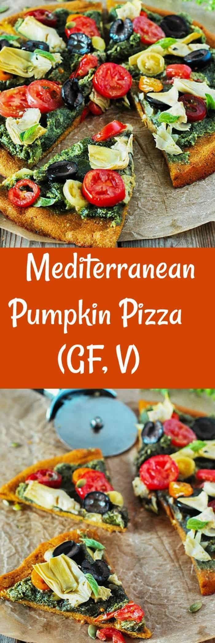 Mediterranean Pumpkin Pizza
