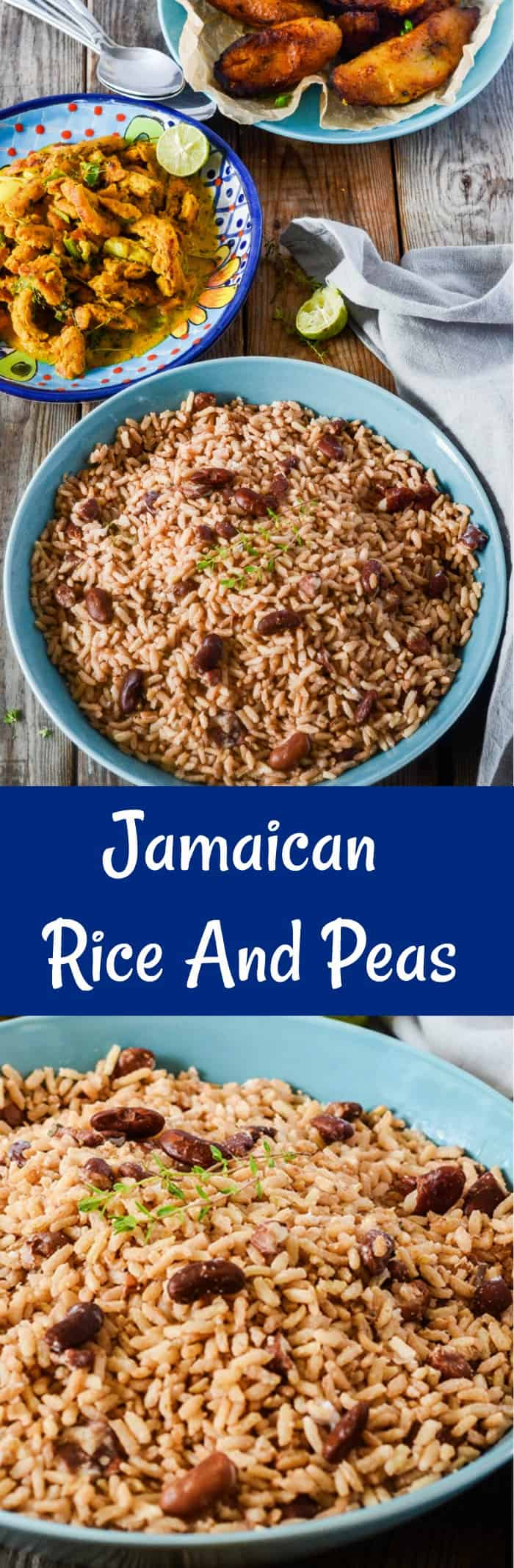 Jamaican Rice And Peas Recipe
