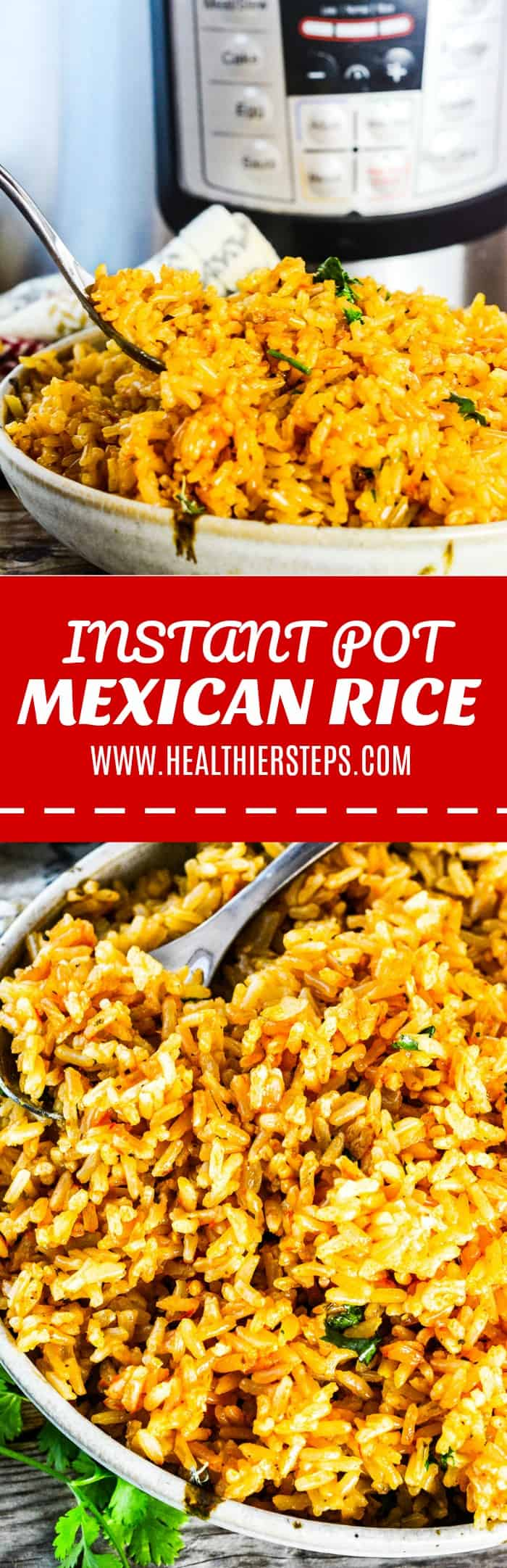 Intant Pot Mexican Rice
