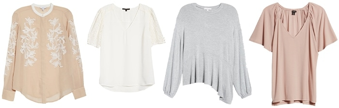 tops for the romantic style personality | 40plusstyle.com