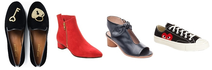 Shoes and boots for Valentine's | 40plusstyle.com