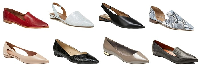 Opt for pointed toe shoes | fashion over 40 | style | fashion | 40plusstyle.com