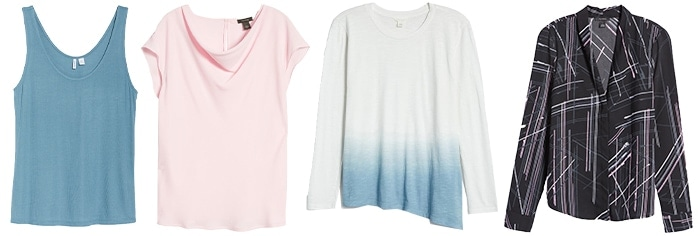 Casual summer outfits - tops   40plusstyle.com