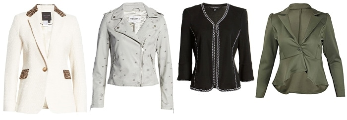 glamorous outerwear | 40plusstyle.com