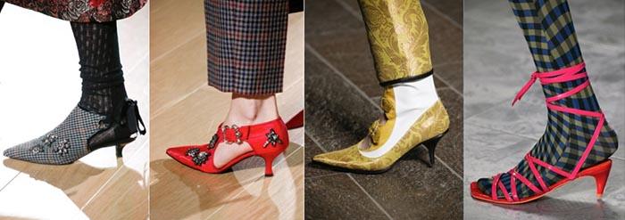 Kitten Heels - 12 shoe trends for Fall 2018 | 40plusstyle.com