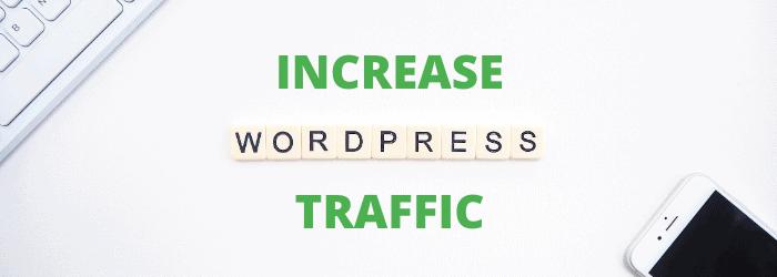 increase wordpress traffic