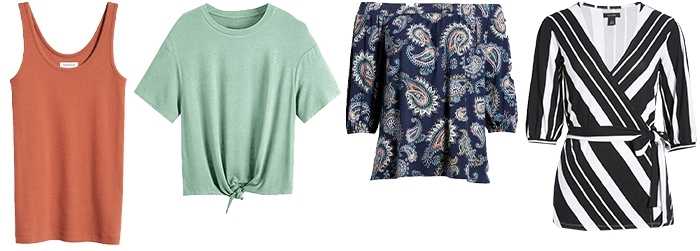Casual tops to wear with palazzo pants | 40plusstyle.com