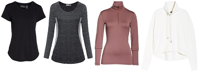 Hiking outfits for women - tops   40plusstyle.com