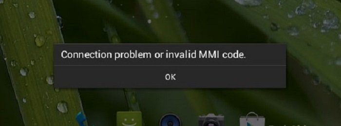 6 Ways How To Fix  Connection Problem or Invalid MMI Code 2