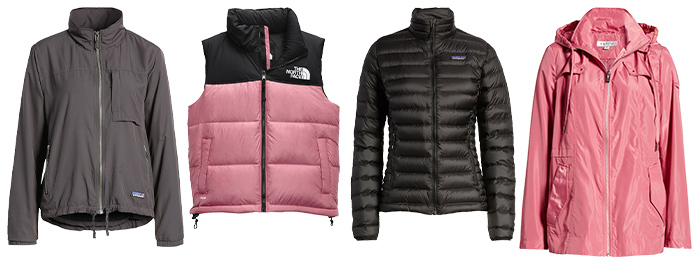 Hiking outfits for women - coats and jackets   40plusstyle.com