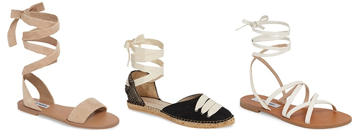 above the ankle flats | 40plusstyle.com
