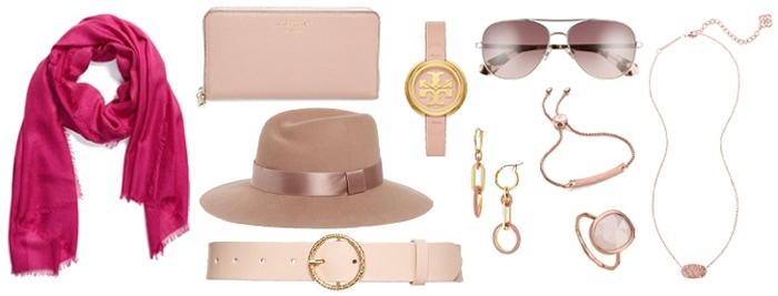 How to wear pink - pink accessories   40plusstyle.com
