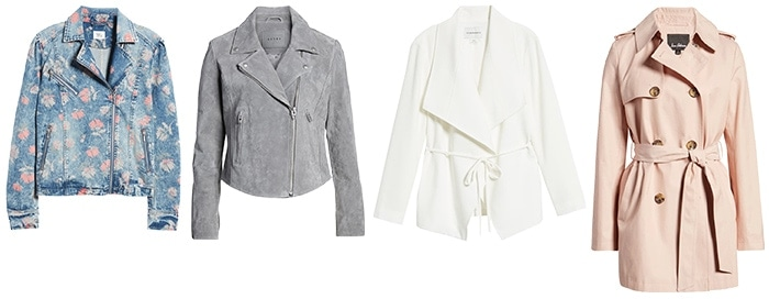 coats and jackets for the romantic style personality | 40plusstyle.com