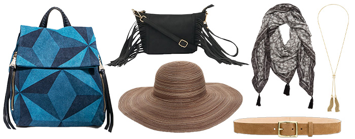 Boho accessories to wear | 40plusstyle.com