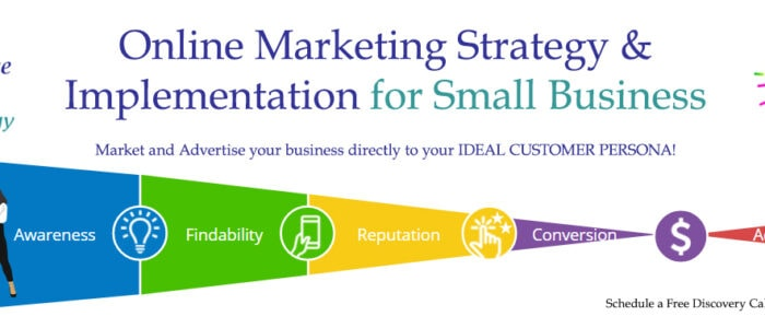 Online Marketing Stratehgy for small businesses