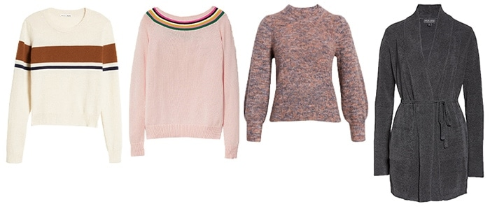 Best sweaters for the pear shape | 40plusstyle.com