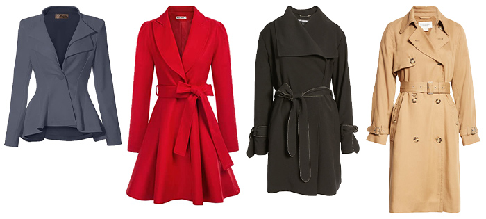 Jackets to wear for the hourglass body shape | 40plusstyle.com