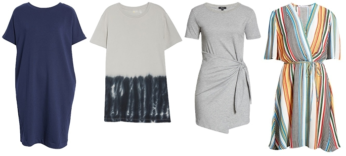 Short dresses to wear over pants and leggings | 40plusstyle.com