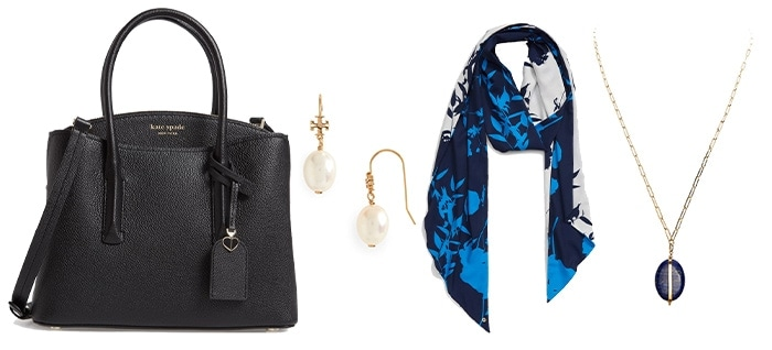 Accessories to wear with jeans to work | 40plusstyle.com