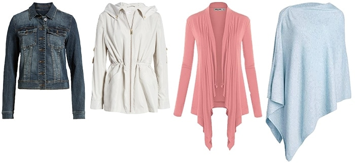 Tops and jackets to wear to a picnic | 40plusstyle.com