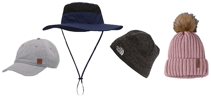 Hats to wear on a hike   40plusstyle.com
