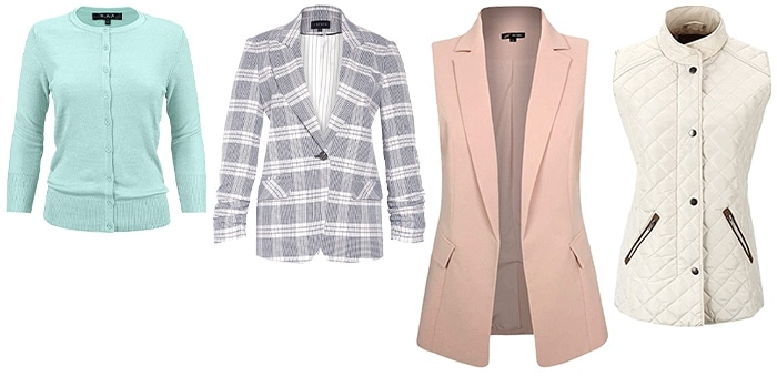cardigans and jackets to wear for women with a preppy personality | 40plusstyle.com