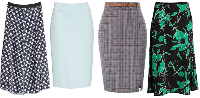 Michelle Obama inspired skirts | 40plusstyle.com